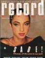 SADE Record Mirror (1/5/85) UK Magazine