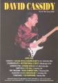 DAVID CASSIDY 2002 Rock Me Tour UK Flyer