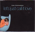 LISA STANSFIELD Let's Just Call It Love UK CD5 w/Radio Mix