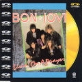 BON JOVI Livin' On A Prayer JAPAN Video CD w/4 Tracks + PAL Encoded Video RARE!