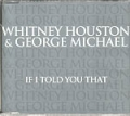 WHITNEY HOUSTON & GEORGE MICHAEL If I Told You That UK CD5