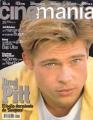 BRAD PITT Cine Mania (12/96) SPAIN Magazine