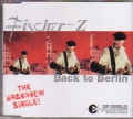 FISCHER Z Back To Berlin EU CD5