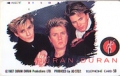 DURAN DURAN Strange Behaviou Tour JAPAN Telephone Card