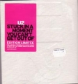 U2 Stuck In A Moment You Can't Get Out Of FRANCE CD5 Ltd.Edition