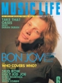 BON JOVI Music Life (6/95) JAPAN Magazine