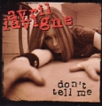 AVRIL LAVIGNE Don't Tell Me USA CD5 Promo Only
