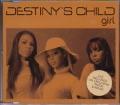 DESTINY'S CHILD Girl UK CD5 w/Remix & Extra Track