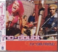 NO DOUBT Ex Girlfriend JAPAN CD5 w/3 Tracks+Video