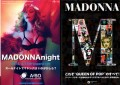 MADONNA MDNA Set Of 2 JAPAN Flyers