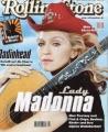 MADONNA Rolling Stone (10/2000) GERMANY Magazine