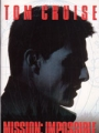 MISSION IMPOSSIBLE Original JAPAN Movie Program  TOM CRUISE