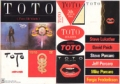 TOTO Isolation JAPAN Promo Sticker Sheet
