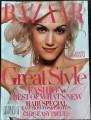 GWEN STEFANI Harper's Bazaar (5/07) USA Magazine