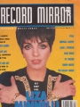 LIZA MINNELLI Record Mirror (3/10/90) UK Magazine