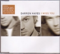 DARREN HAYES I Miss You UK CD5 w/Poster