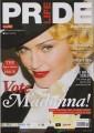 MADONNA Pride Life Magazine (Spring 2015) UK Magazine