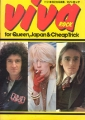 QUEEN Viva Rock For Queen, Japan & Cheap Trick JAPAN Picture Mag