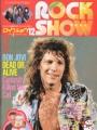 BON JOVI Rock Show (12/87) JAPAN Magazine