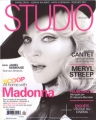 MADONNA Studio (9/08) FRANCE Magazine