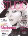 MADONNA Studio (9/08) FRANCE Magazine