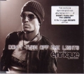 ENRIQUE IGLESIAS Don`t Turn Off The Lights AUSTRALIA CD5 w/Mixes & Postcards