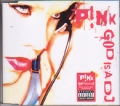 PINK God Is A DJ UK CD5 w/2 Tracks