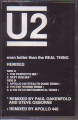 U2 Even Better Than The Real Thing Remixes USA Cassette Single