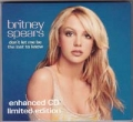 BRITNEY SPEARS Don't Let Me Be The Last To Know UK CD5 Ltd.Edition
