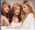 ATOMIC KITTEN It's Okay UK CD5 w/Exclusive Poster