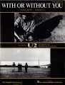 U2 With Or Without You USA Sheet Music