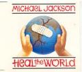 MICHAEL JACKSON Heal The World UK CD5 w/4 Tracks
