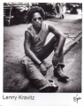 LENNY KRAVITZ USA Promo Photo (Sitting on the Ground)