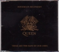 QUEEN Bohemian Rhapsody UK CD5