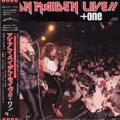 IRON MAIDEN Live!!+One JAPAN 12