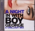BOY GEORGE A Night Out With Boy George A Chill Out Mix USA CD