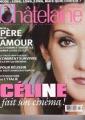 CELINE DION Chatelaine (10/98) CANADA Magazine