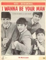BEATLES I Wanna Be Your Man USA Sheet Music