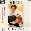 WHAM The Video JAPAN Laserdisc