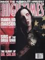 MARILYN MANSON High Times (2/01) USA Magazine