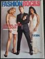 GWEN STEFANI Fashion Rocks (10/05) USA Magazine