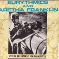 EURYTHMICS w/ARETHA FRANKLIN Sisters Are Doin' It For Themselves UK 12