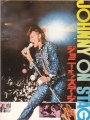 JOHNNY ON STAGE Original JAPAN Movie Program JOHNNY HALLYDAY