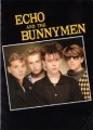 ECHO AND THE BUNNYMEN 1984 JAPAN Tour Program w/Big Color Poster