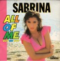 SABRINA All Of Me FRANCE 7