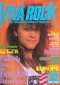 BON JOVI Viva Rock (2/89) JAPAN Magazine