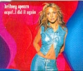 BRITNEY SPEARS Oops!...I Did It Again UK CD5