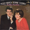 PEGGY MARCH/BENNIE THOMAS In Our Fashion JAPAN LP