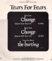 TEARS FOR FEARS Change USA 12