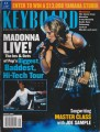 MADONNA Keyboard (1/02) USA Magazine